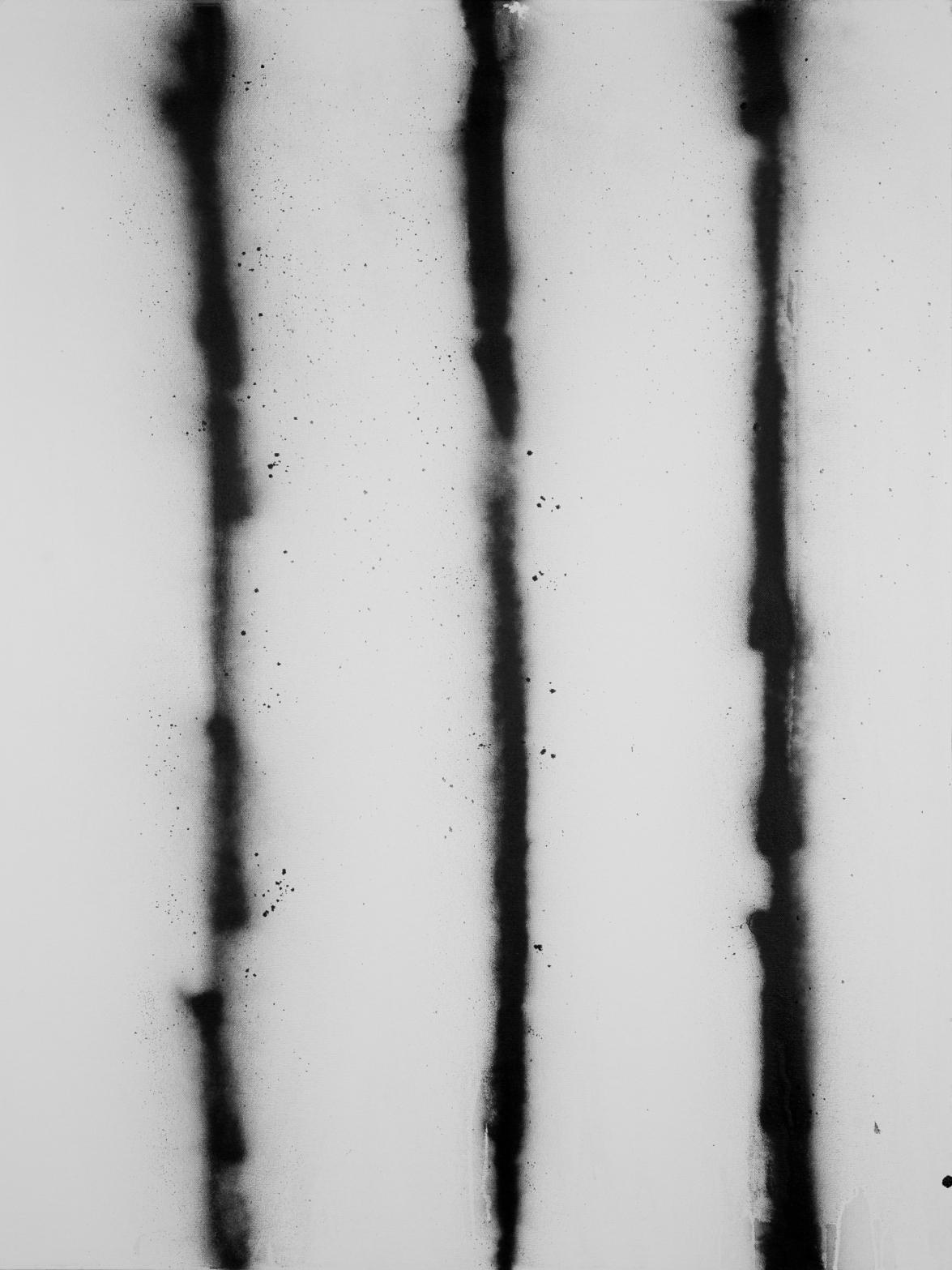 V Black spray oW #1 7.2013 (30''x40'')