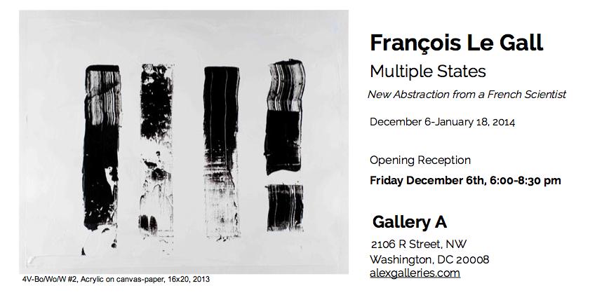 Francois Le Gall einvite December 6 2013