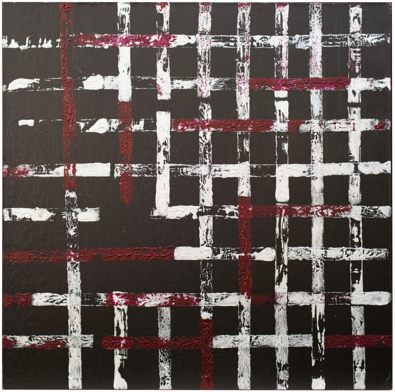 RoSoBoB #2 2014 acrilyc on canvas 36x36 in