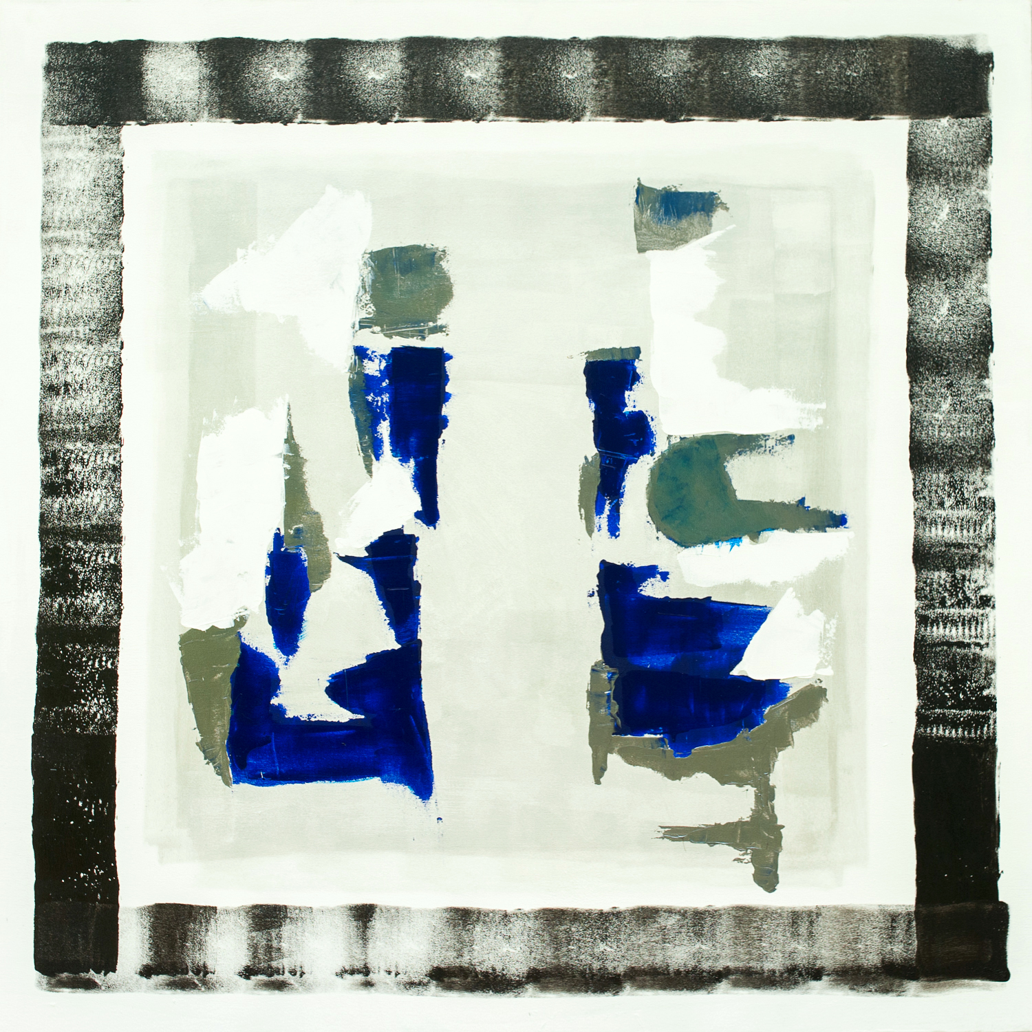 Square 1 BLUEoW 48x48 in