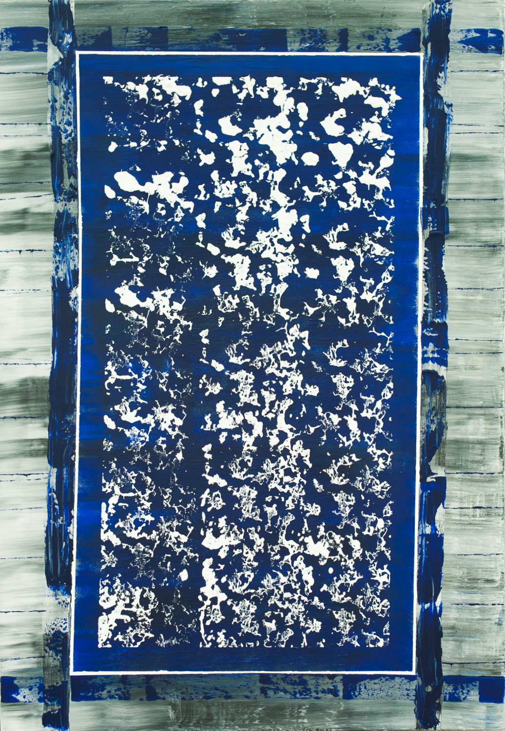 BLUE BIBLE 2016 48x60 in