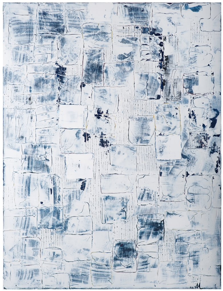 WoBLUE #4 36x48 in
