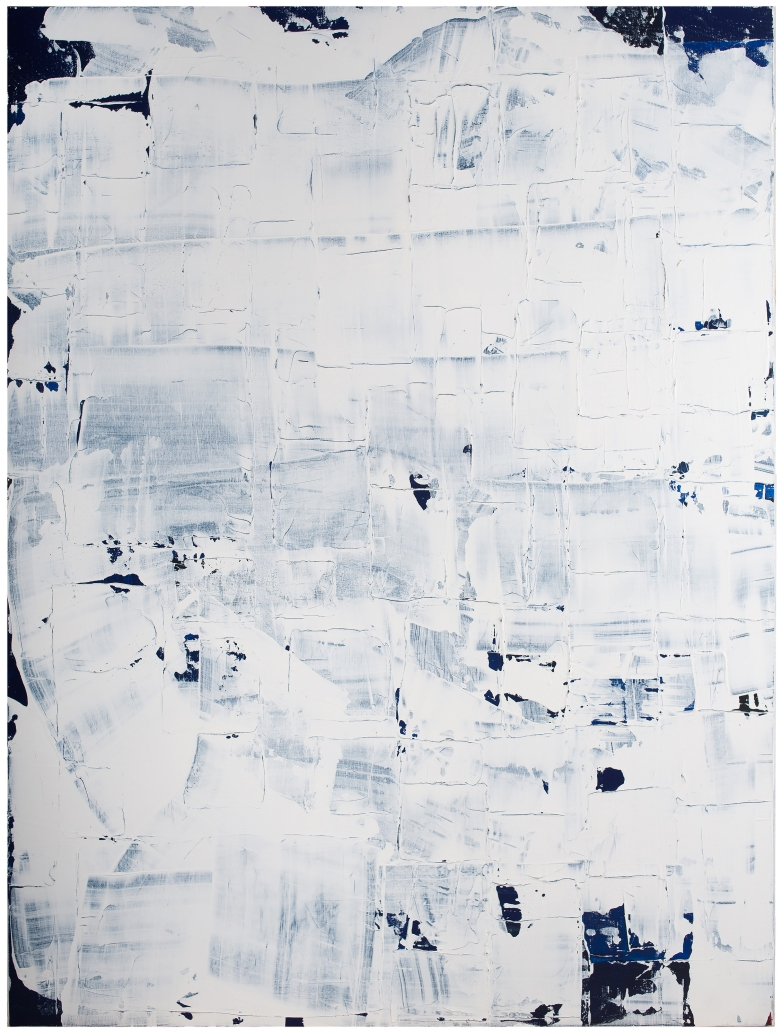 CANVAS WoBLUE #1 36x48 in